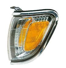 Corner Side Marker Light for 01-04 Toyota Tacoma Pickup (Chrome) Driver Left