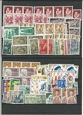 España. 2º Centenario. sellos y series con valor de 112 Euros