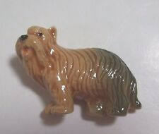 * Animal Miniature Ceramic Fridge Magnet Briard dog *