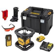 DeWALT DCE074D1R Niveau laser rotatif rouge 18V + accessoires et TSTAK VI Box
