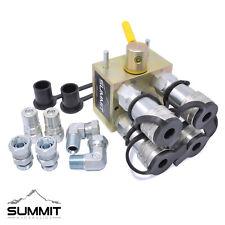 Manual Hydraulic Multiplier Diverter Valve Kit w/ 3/8