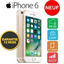 Neuf Apple iPhone 6 64GO 64GB Unlocked DÉBLOQUÉ Téléphones Gold OR FR