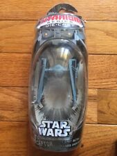 STAR WARS TITANIUM SERIES IMPERIAL TIE INTERCEPTOR GALOOB MICRO MACHINE NIP