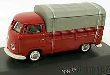 Schuco/Marklin NEW HO 1/87 Scale Volkswagen VW Micro Bus Pick-Up with Canvas Top