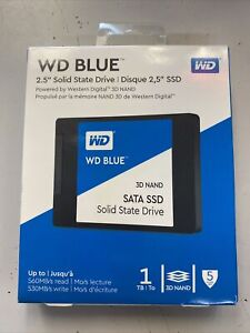 """WD BLUE 1TB 2.5"""" SOLID STATE DRIVE SSD  BRAND NEW"""