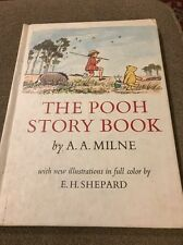 The POOH STORY Book by A.A. Milne Vintage 1965 Hardcover Parents' Magazine (JD)