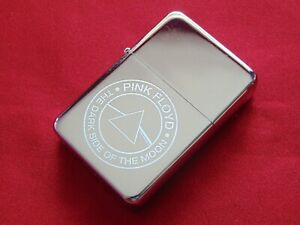 Pink Floyd dark side of the moon Engraved Lighter With Gift Box - FREE ENGRAVING