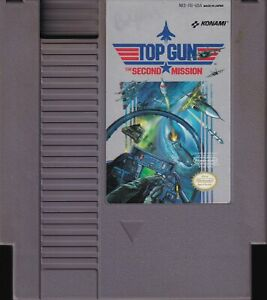 TOP GUN: THE SECOND MISSION (1990) nes nintendo konami topgun 2 NTSC USA IMPORT