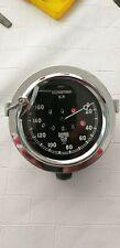 Smiths prewar governor type speedometer faces Kilometres, Miles .