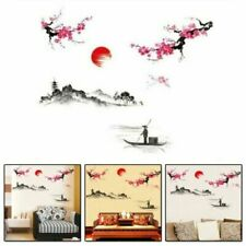 Adesivi e decalcomanie da parete multicolore per la decorazione della casa, tema arte