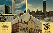Toronto Canada Canada Ontario ~ 1960/70 NEW CITY HALL Municipio Historic Buildings
