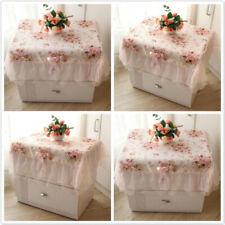 Multi-purpose Kitchen Decoration Lace Rectangular Romantic Dining Tablecloth F3