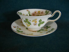 Wedgwood Wild Strawberry Peony Shape Cup and Saucer Set(s)