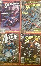 SUPERMAN: Krisis Of The Crimson Kryptonite Pts 1-4 (1990)