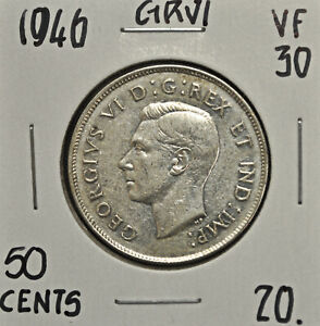 1946 Canada 50 Cents