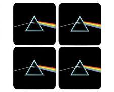 Pink Floyd Darkside Of The Moon Coaster Set Of 4 Neoprene Free Shipping
