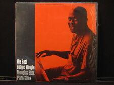 THE REAL BOOGIE WOOGIE MEMPHIS SLIM FOLKWAYS 3524 WITH INSERT SHRINKWRAP RECORD
