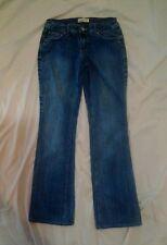 L.E.I. Ashley Trouble Women's Faded Blue Denim Boot Cut Jeans Size 7