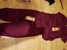 Scrubstar burgandy too size xl pants size m stretch