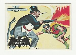 66 BATMAN TOPPS FIERY ENCOUNTER 1966 NO 19 NRMINT+ 8353