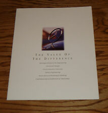 Original 1995 Mercedes Benz Full Line Sales Brochure 95 C E S SL Class