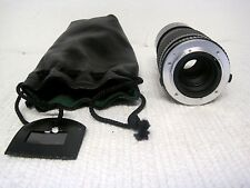 Vintage Cosina 200mm 1:4 MC Lens w/Case For Olympus-Made in Japan-FAST SHIPPING