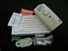 Motion Detection Detector Intruder Alarm Keypad PIR Alarm - NEW BOXED - 130dBs
