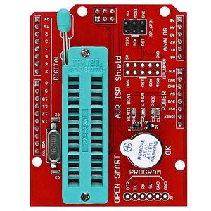 AVR ISP Shield Burning Burn Bootloader Programmer for Arduino UNO R3 NEW