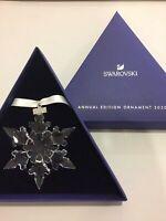 Crystal Large Annual Edition Christmas Ornament 2020Snowflake 5511041