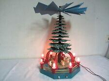 Erzgebirge Pyramide mit Motor und Beleuchtung Weihnachtspyramide Weihnachtsdeko