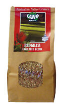 Lawn Pro 400gram Australian Native Red Grass Seed Covers 20sqm Oversows 40sqm