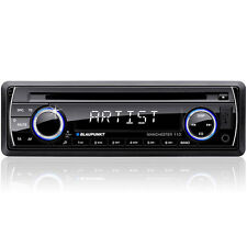 Blaupunkt - CD/MP3 RECEIVER - Front USB - Front Aux-in - SD/MMC card slot Behind