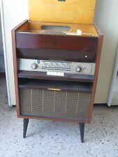 radio giradischi vintage anni '60 mobile , la voce del padrone