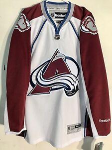 Reebok Premier NHL Jersey Colorado Avalanche Team White sz XL