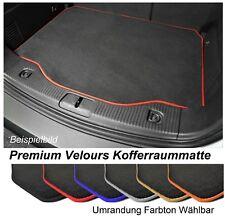 Kofferraum-matte für Suzuki Grand Vitara II 2005-2015 Pemium Velours Anthrazit