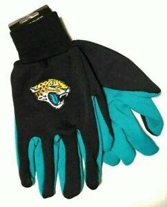 Jacksonville Jaguars 2 Tone Non-Slip Utility Gloves