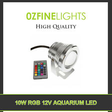 10W 12V LED Aquarium RGB LIGHT COLOR CHANGE+24 keys IR REMOTE