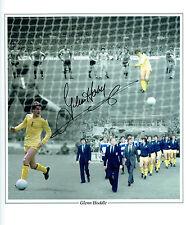 Glenn HODDLE Signed Autograph Huge Tottenham Hotspurs Montage Photo AFTAL COA