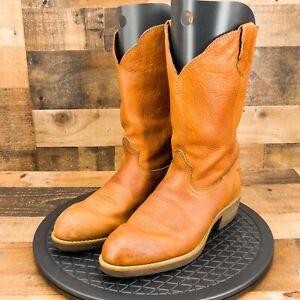 Georgia Boots Comfort Core Mens Wellington Oiled Walnut Western Ranch Size 12W