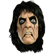 Alice Cooper Mask Deluxe Latex Official Costume