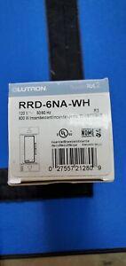 Lutron RRD-6NA-WH RadioRA 2 Dimmer, White, RA2