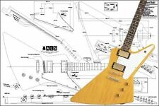 Gibson Explorer® Electric Guitar Plan