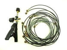 Fluke 700ptp1 Pneumatic Test Pump 0 600 Psi With Analog Gauge Tested W Hoses