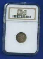 1889 3CN NGC PF63 3 Cent Nickel US Mint Coin PR63 1889 3 CN NGC PF-63 Proof