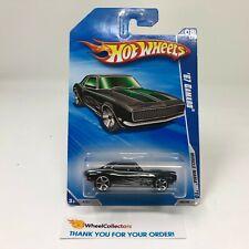'67 Camaro #86 * BLACK * 2010 Hot Wheels * S32