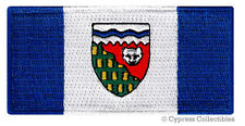 NORTHWEST TERRITORY FLAG PATCH embroidered iron-on CANADA Canadian Province NW