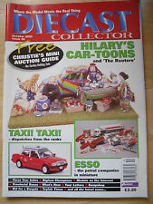 DIECAST COLLECTOR MAG OCT 2000 #36 TAXI ESSO HILARY CAR-TOONS BIGFOOT CHAMPIONS