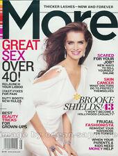 Young BROOKE SHIELDS Diana Krall JILL HENNESSY Rowan Grier 2009 More magazine