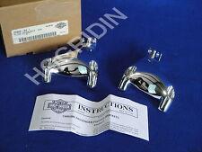 Harley Davidson sportster xl 1200 883 chrome rear passenger foot pegs brackets