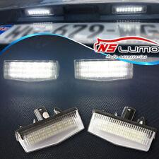 2pcs LED License Plate Light For TOYOTA MATRIX AZE14 PRIUS ZVW30 LEXUS RAV4 XA40